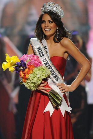 Jimena Navarrete, Miss México, foi eleita a nova Miss Universo 2010