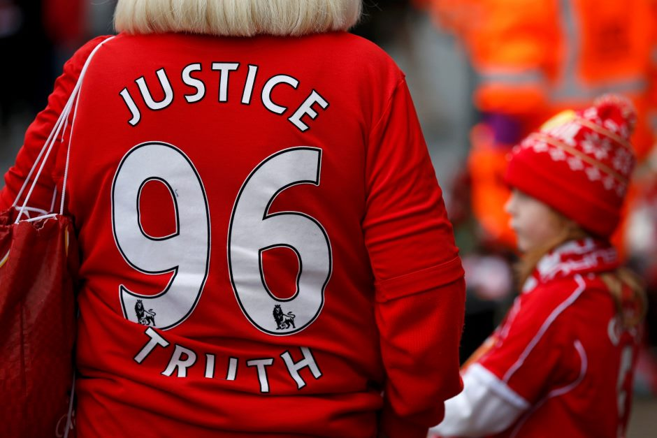 Os 96 de Hillsborough