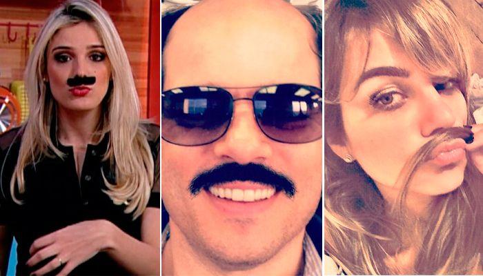 Rafa Brites, Celso Portiaolli e Flavia Vitorino / Divulgação/Instagram