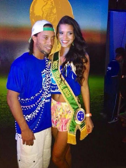 Miss Brasil nega romance com o jogador Kaká - Notícias ... Jakelyne Oliveira Kaka