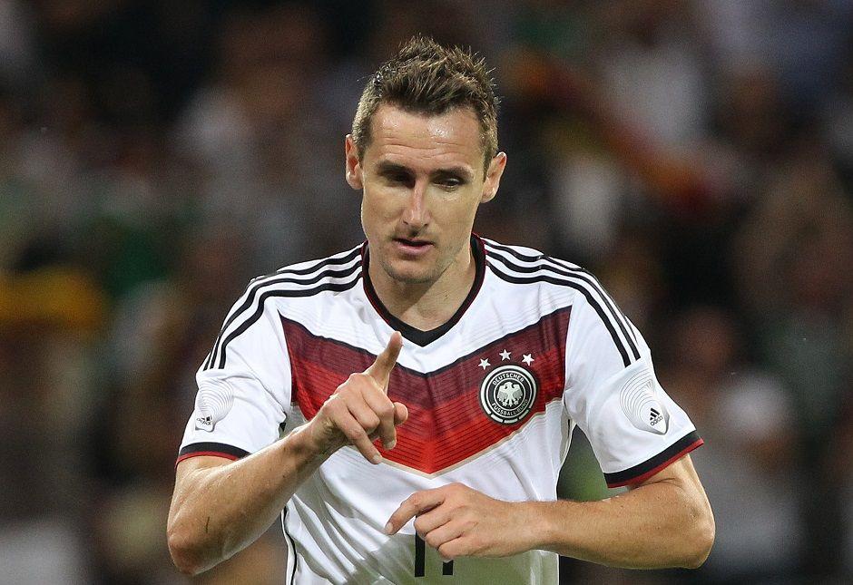 b9815e3867575 Klose se torna o maior artilheiro da Alemanha - Band.com.br