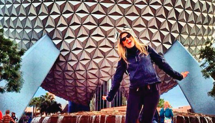 Dani Calabresa ama o mundo da Disney / Divulgação/Instagram