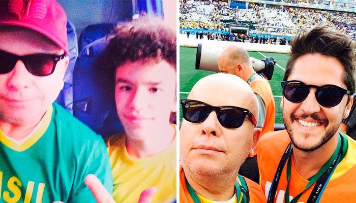 Tas publicou vários momentos do jogo / Divulgação/Instagram