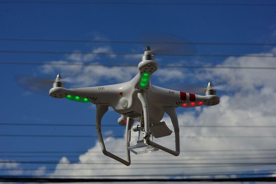 Drone / Lucas Lacaz Ruiz / Fotoarena/Folhapress