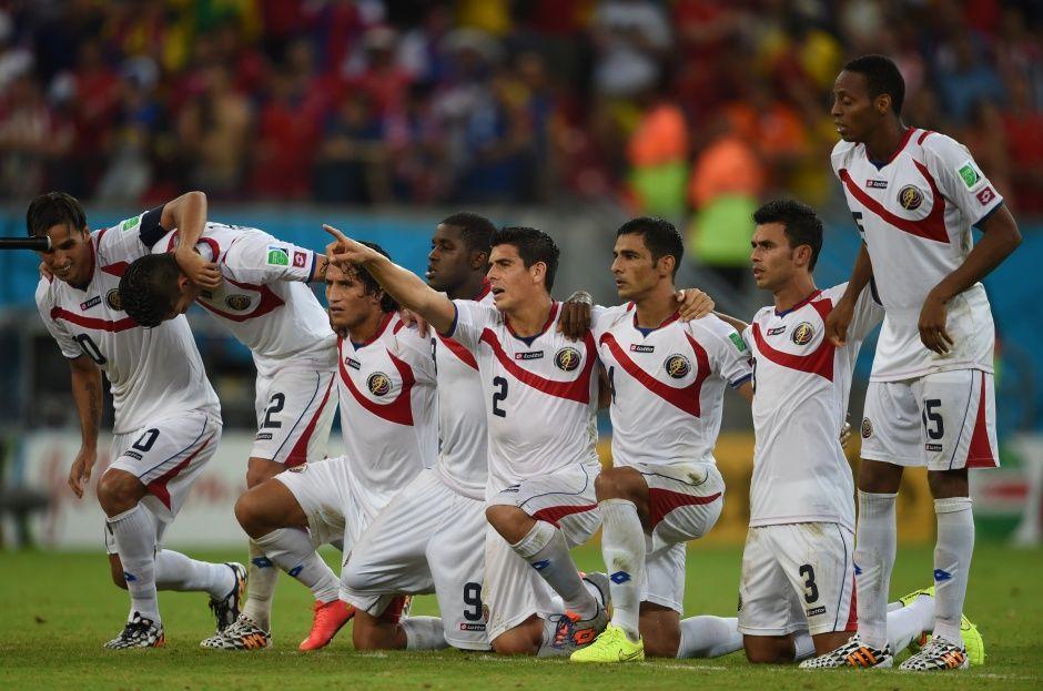 Costa Rica foi fria no momento dos pênaltis / Pedro Ugarte / AFP