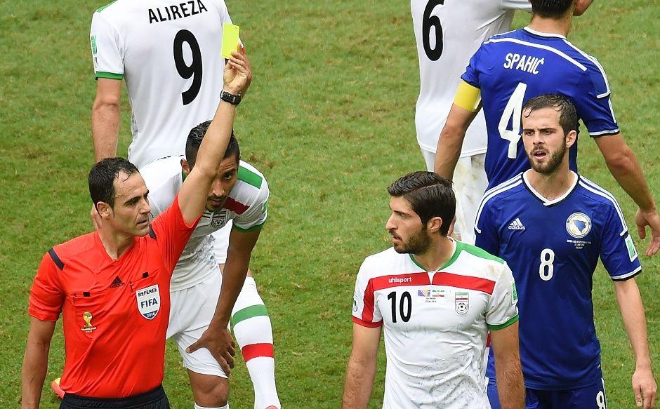 Espanhol já apitou a partida entre Bósnia e Irã, na primeira fase / Emmanuel Dunand / AFP