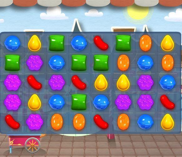 Candy Crush é um dos jogos de celular mais populares / Reprodução/Facebook