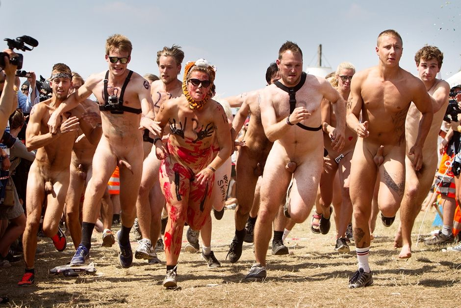 Pelada corrida gay