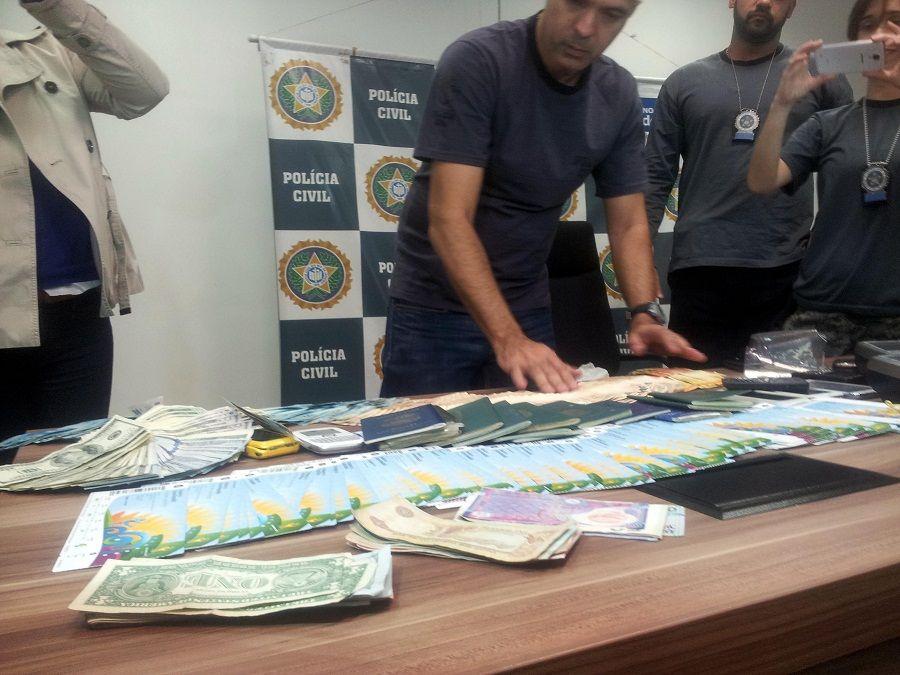 Polícia identifica chefe da máfia de ingressos