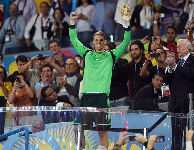 Manuel Neuer foi o goleiro da Seleção Mundial em 2013 / Patrik Stollarz/AFP