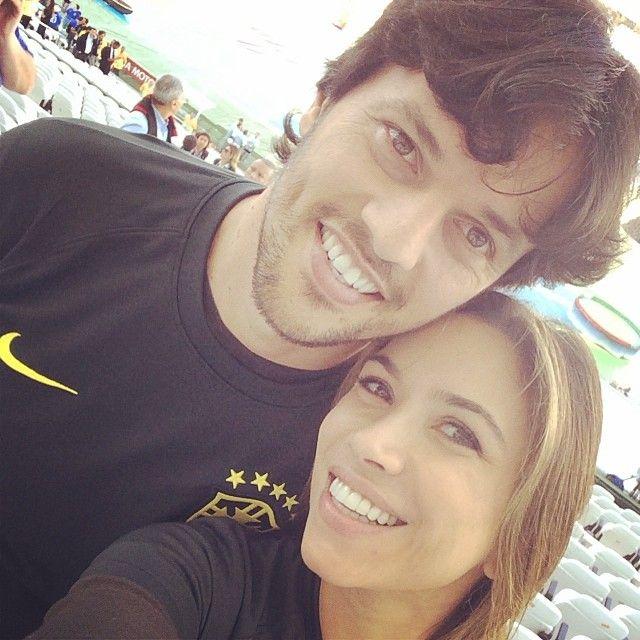 O deputado Fábio Faria e a apresentadora Patrícia Abravanel