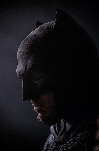 Ben Affleck como Batman para Batman Vs. Superman: A Origem da Justiça / Divulgação/DC Comics