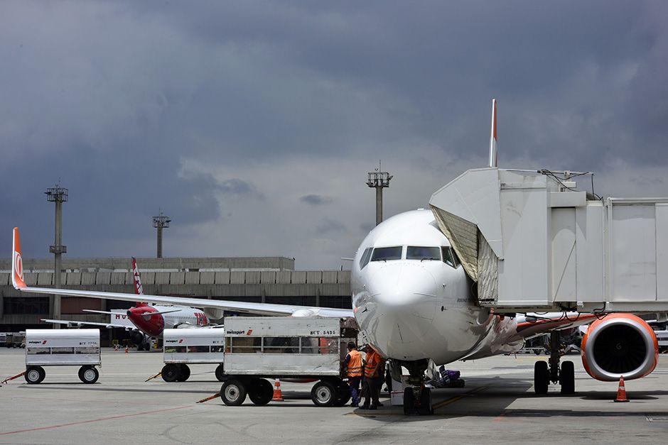 Os Guinle pedem devolução de 95% da área ocupada pelo aeroporto / Lucas Lacaz Ruiz/Folhapress