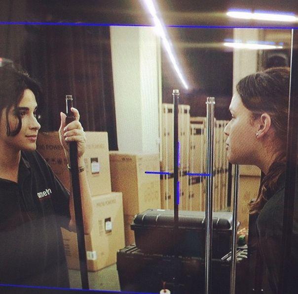 Bruna Marquezine grava sua primeira cena do filme Breaking Through / Divulgação/Instagram