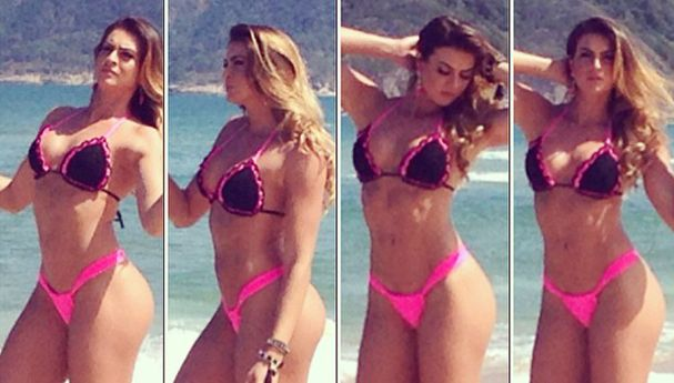 Renata Molinaro não posaria nua para revista / Divulgação/Instagram