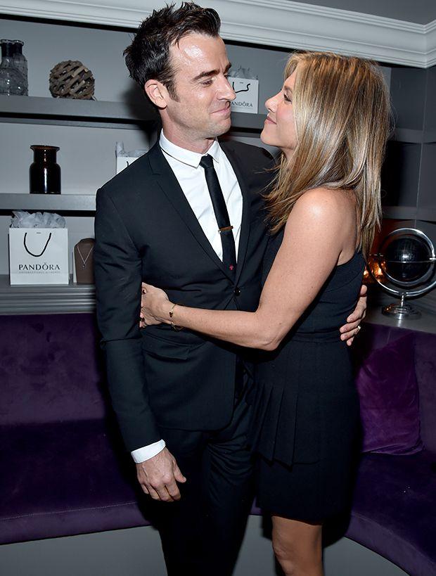 Jennifer Aniston e Justin Theroux se casaram dia 5 / Alberto E. Rodriguez/AFP