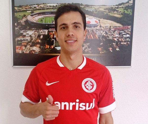 Nilmar vai usar a camisa 7 em seu retorno ao Beira-Rio / Divulgação/SC Internacional