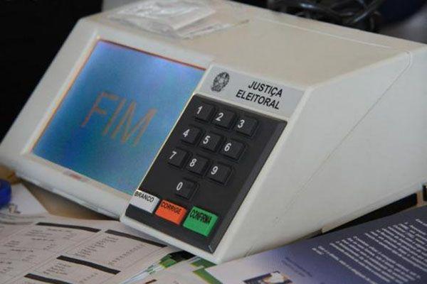 Urna eletrônica para a eleição de outubro / Agência Brasil