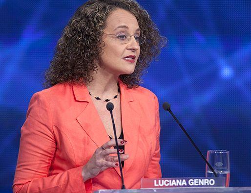 Luciana Genro recebeu 1,6 milhão de votos / Band.com.br