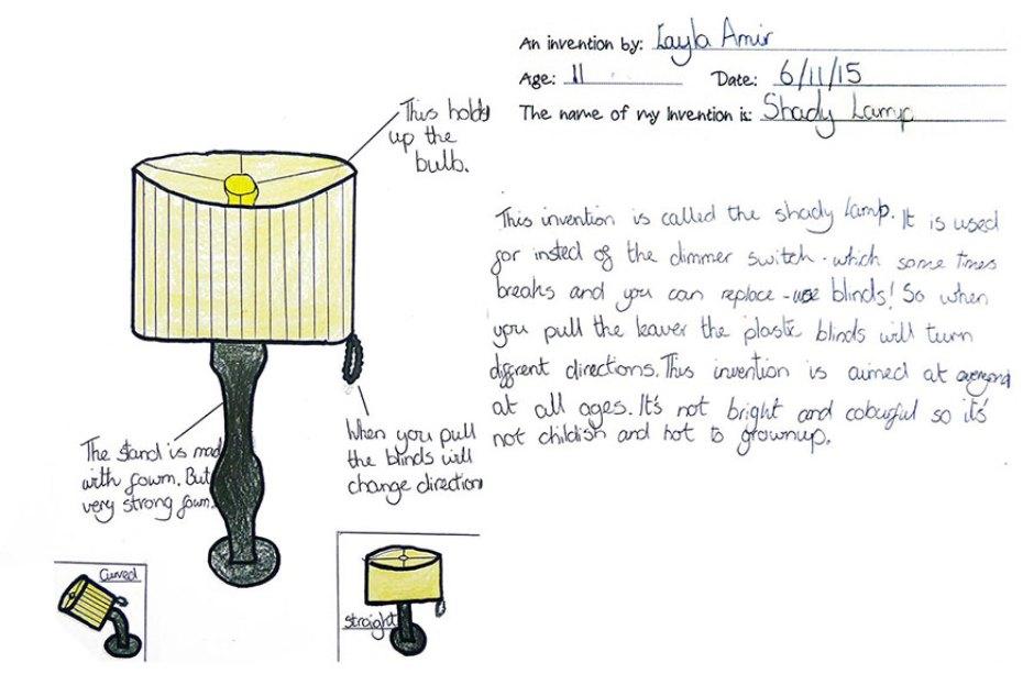 Crianças imaginam invenções que ainda não existem