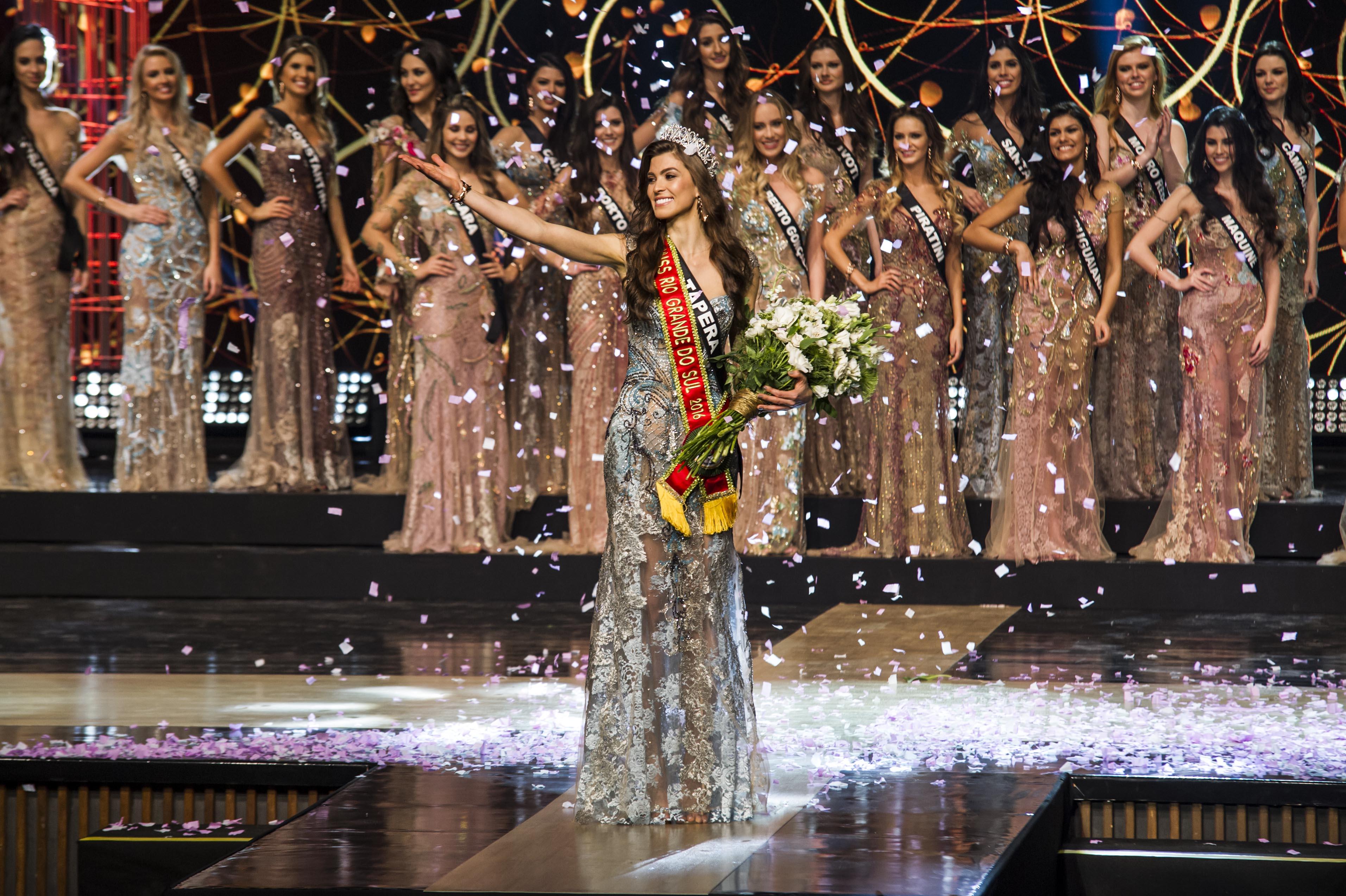 Letícia Kuhn é eleita Miss Rio Grande do Sul BE Emotion