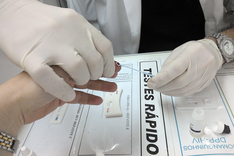 Associação oferece testes gratuitos para detectar hepatite C