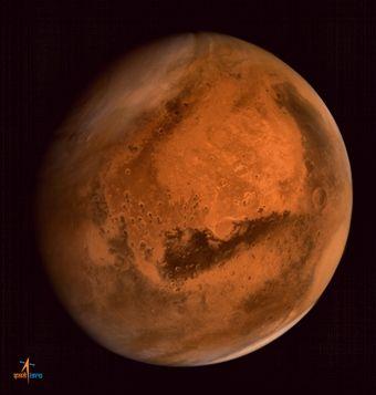 Metano em meteoritos de Marte reforça tese de existência de vida no planeta / IRSO/AFP PHOTO