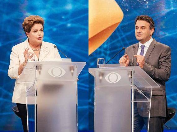 Os mais votados disputam a preferência do brasileiro /