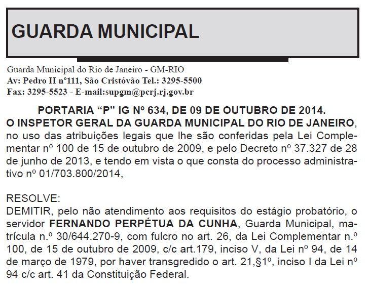 A decisão foi publicada no Diário Oficial desta sexta-feira