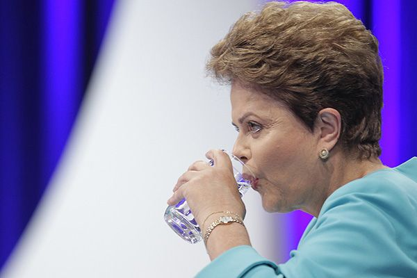 Dilma passou mal ao vivo após o debate / Reinaldo Canato/UOL/Folhapress