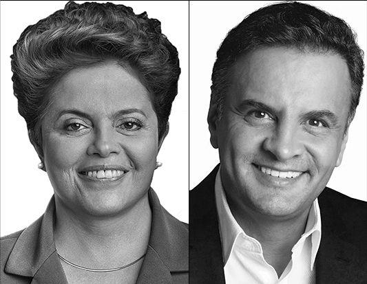 Dilma e Aécio aparecem tecnicamente empatados em pesquisa CNT/MDA /