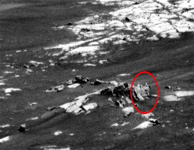 Nasa registra imagem polêmica em Marte