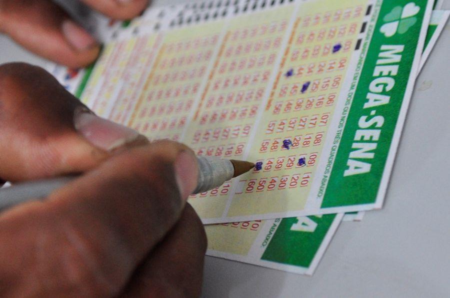 Apostas podem ser feitas nas casas lotéricas de todo o país  / Mauro Akin Nassor/Fotoarena/Folhapress