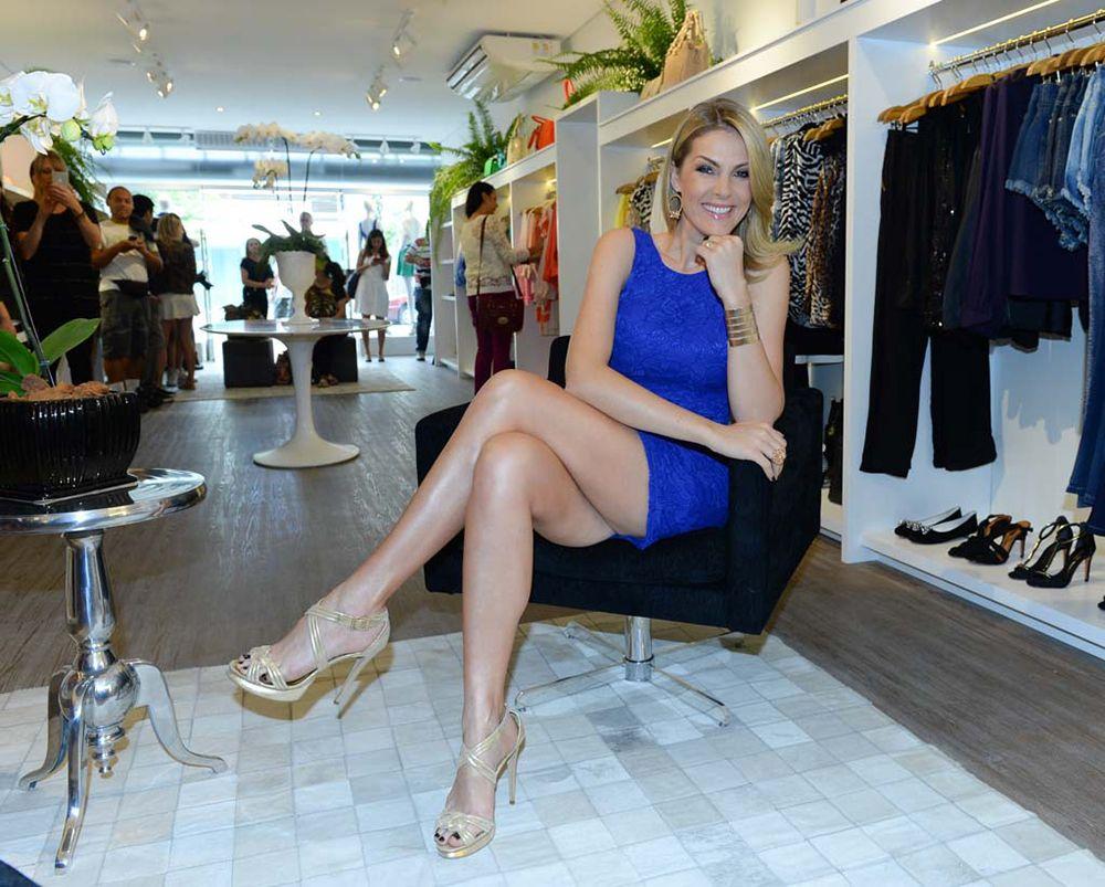 f0ef5fb31f7c4 Ana Hickmann inaugura a própria loja em SP - Band.com.br
