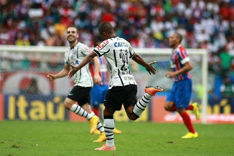 Corinthians, de Malcom, enfrenta o Grêmio neste domingo, na Arena Corinthians / Edson Ruiz/Coofiav/Folhapress