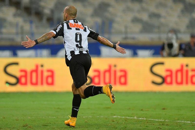 Tardelli marcou o gol da vitória do Galo sobre o Cruzeiro / Douglas Magno/AFP