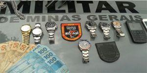 e33d9c0f8db Presa quadrilha especializada em roubar Rolex. Além dos relógios de luxo