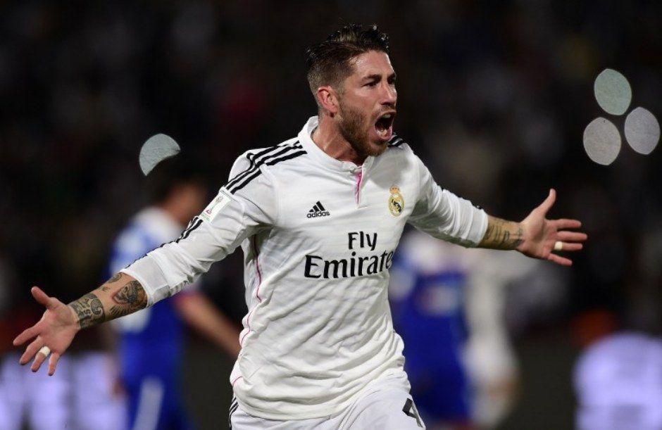 Sergio Ramos deu início a goleada do Real Madrid no Mundial
