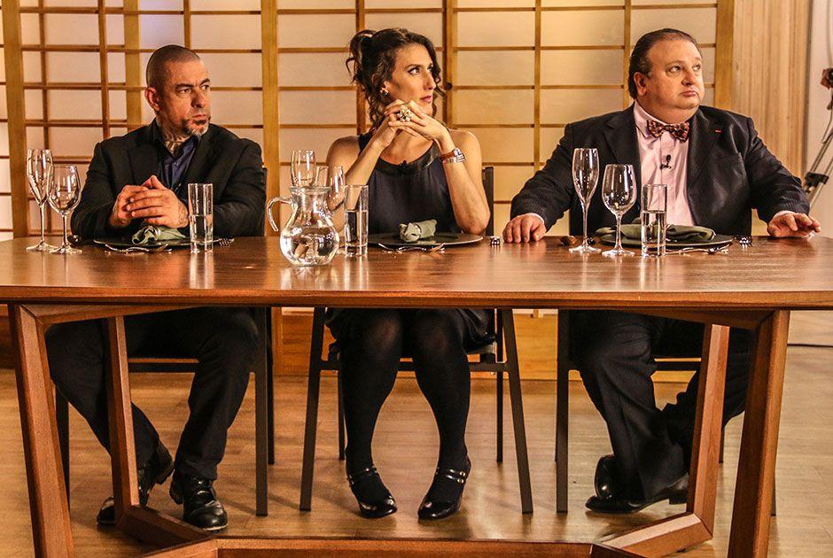 Os jurados reunidos no último episódio / Rodrigo Belentani/ Band