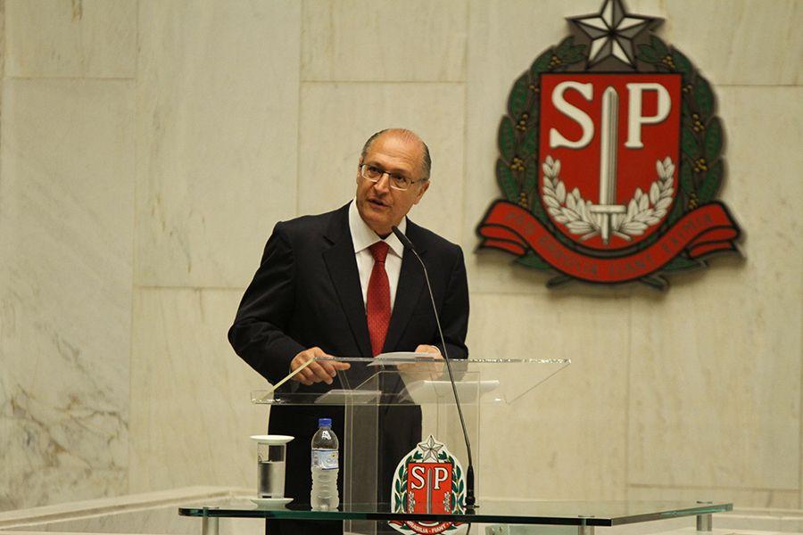Alckmin toma posse na manhã do dia 1º de janeiro / Amauri Nehn/Brazil Photo Press/Folhapress