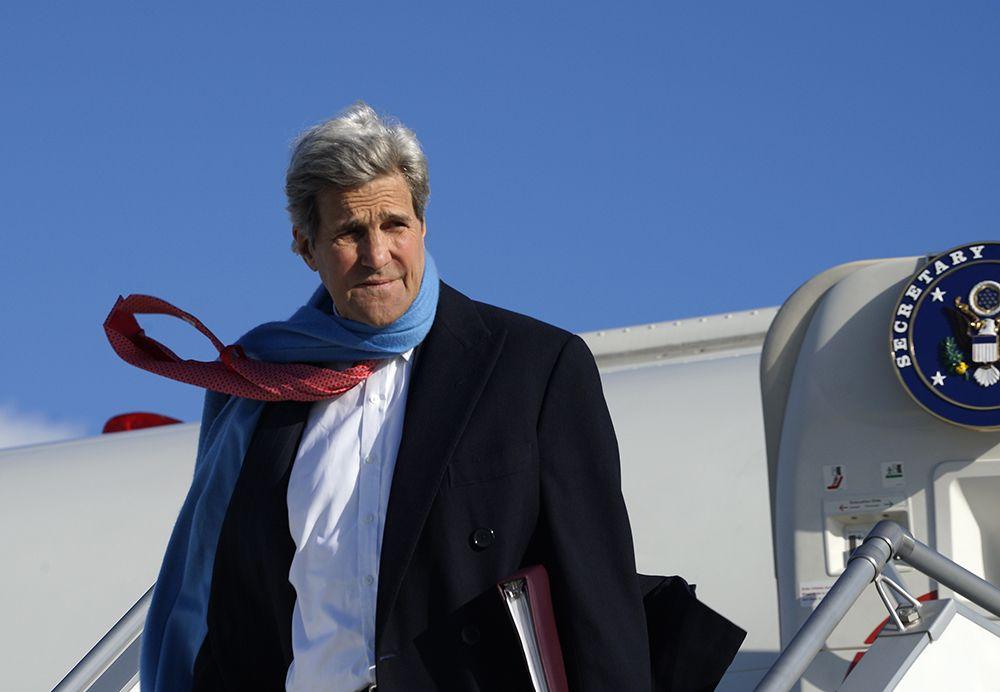 Kerry foi levado ao principal hospital de Genebra e sua condição é estável / Rick Wilking/AFP/Arquivo