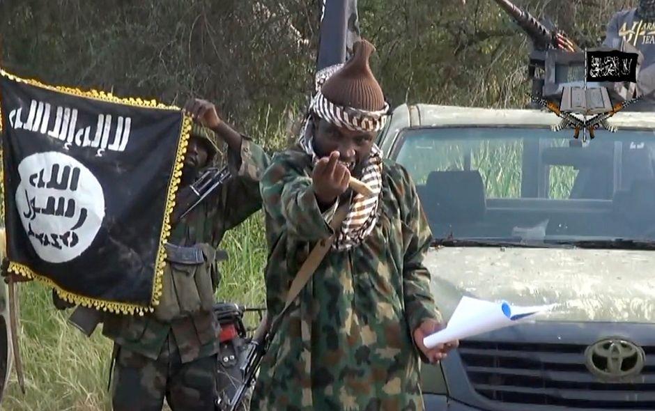 Grupo islamita Boko Haram é acusado pelos ocidentais de crimes contra a humanidade / BOKO HARAM / AFP