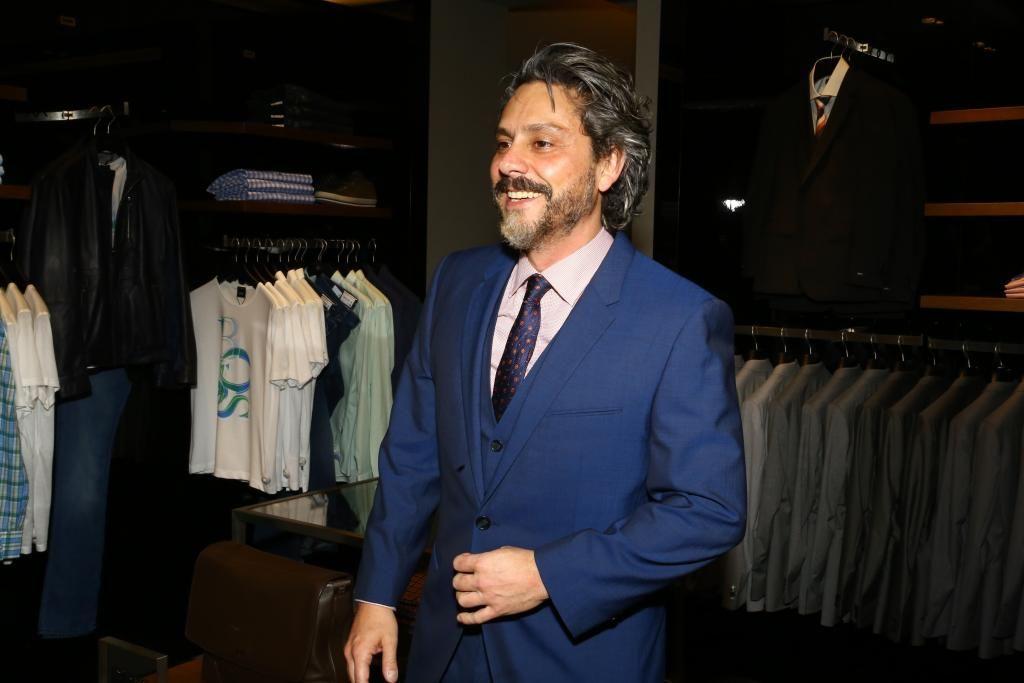 Alexandre Nero está super feliz com a gravidez da mulher / Marcello Sá Barretto/AgNews