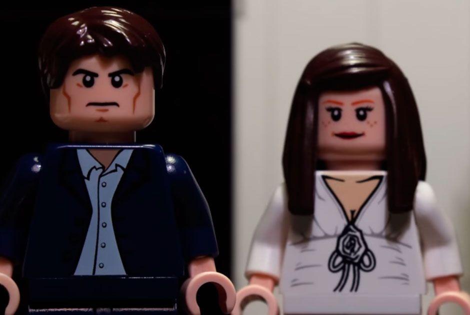Bonecos de Lego / Reprodução/Youtube