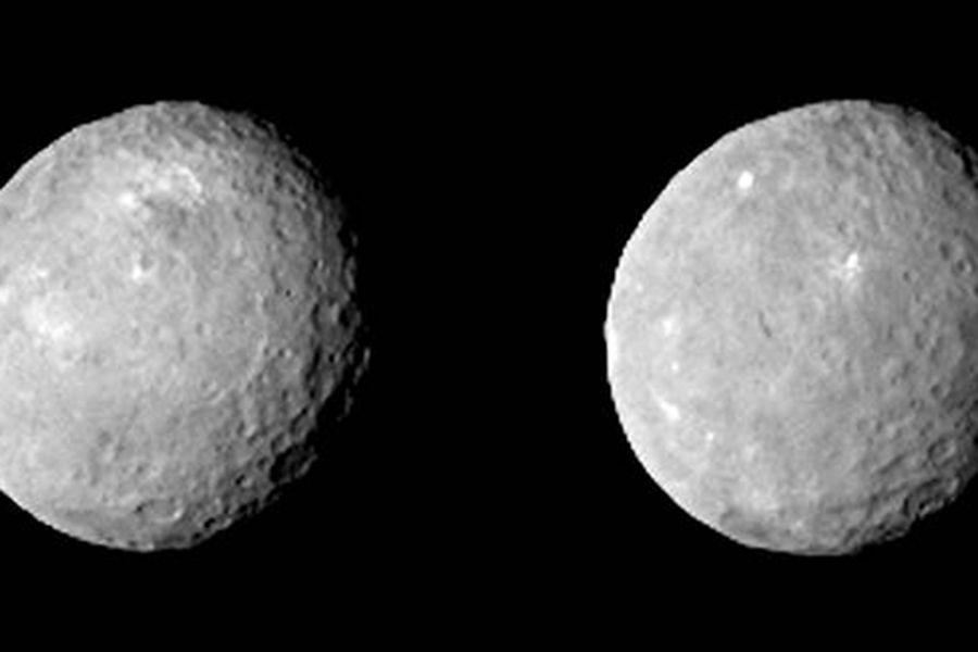 Principal investigador da missão, Chris Russell disse que Ceres tem enganado os cientistas / Divulgação/NASA/JPL