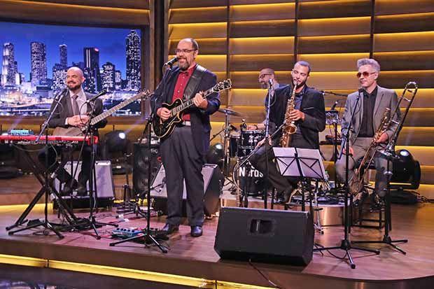 A banda André Abujamra e os Nerds