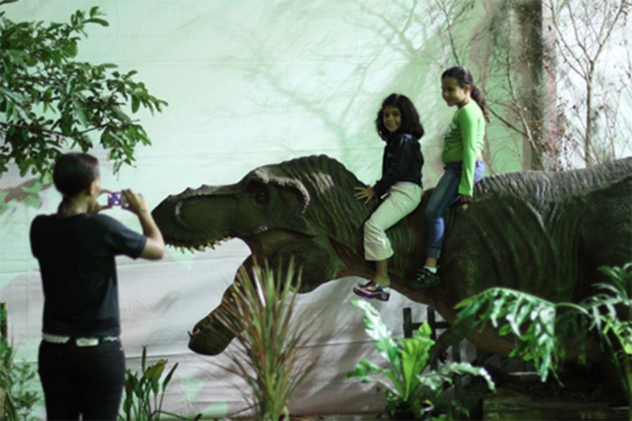 Exposicao Tem Replicas Reais De Dinossauros Noticias Amazonas