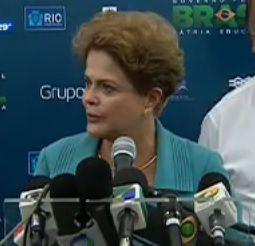 Em declaração sobre protestos, Dilma relembra morte de Santiago / Reprodução/Jornal da Band