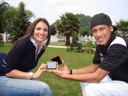 Fãs adorariam ser namorada do Neymar.