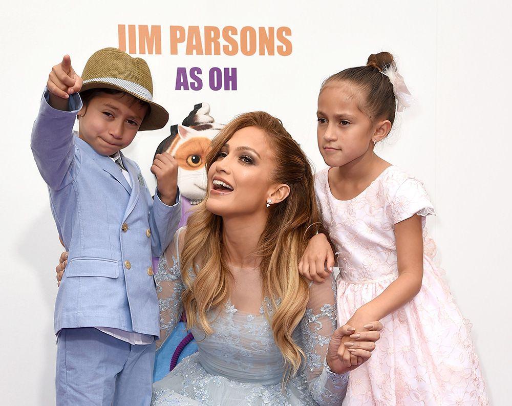 Jennifer Lopez revela bronca do filho: Você deveria usar mais calças
